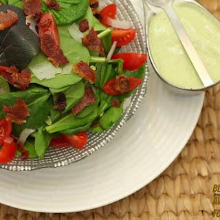BLT Salad with Avocado Ranch