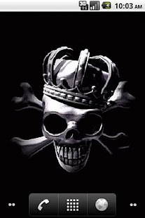 玩個人化App|Crown Skull LiveWallpaper免費|APP試玩