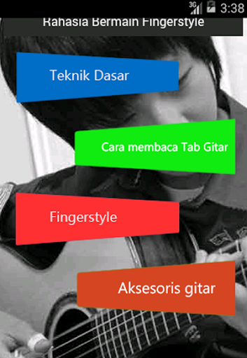 Fingerstyle guitar Interactive