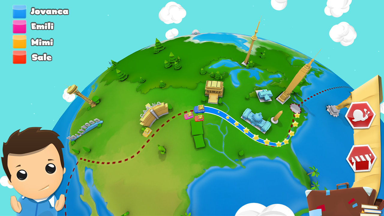 Geography Quiz Game 3D- screenshot