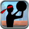 Stick Basketball shoot icon