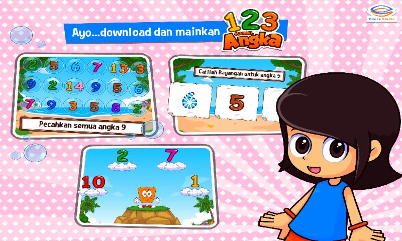 Marbel Belajar Angka - screenshot