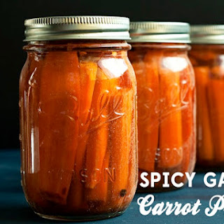 Spicy Garlic Carrot Pickles