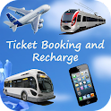 Ticket Booking and Recharge icon