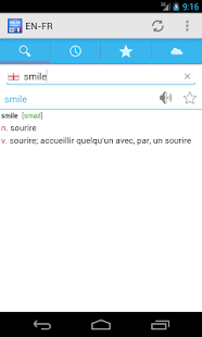 French-English Dictionary- screenshot thumbnail