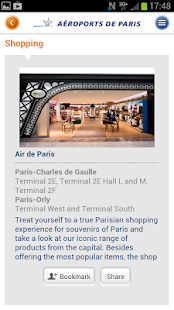 My Airport–Aeroports de Paris- screenshot thumbnail