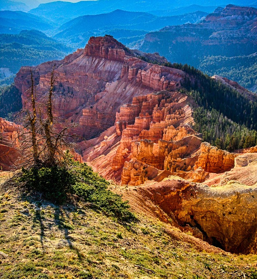 Cedar Breaks National Monument at 10,000 ft by Brent Morris - Landscapes Caves & Formations
