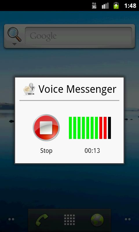 Voice Messenger- screenshot