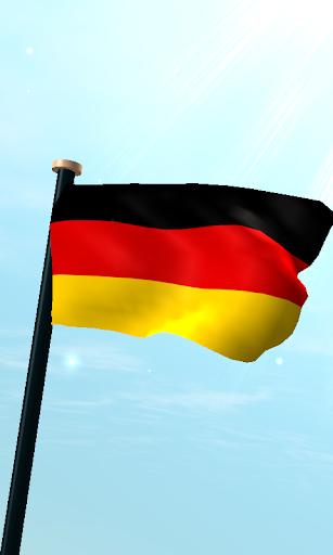 德國旗3D動態桌布