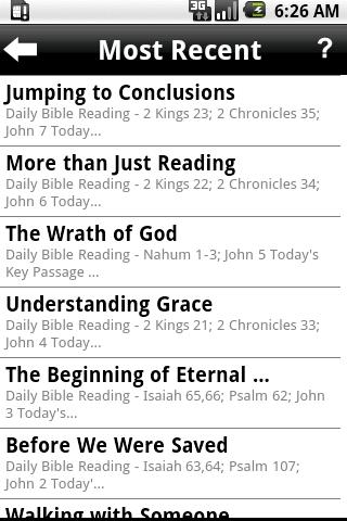 Daily Bible Plan Pro - screenshot