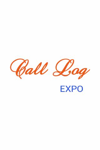 Call Log Expo
