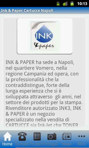 Ink Paper Cartucce Napoli