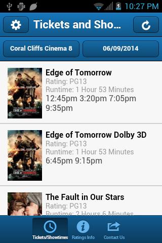 Coral Cliffs Cinema 8