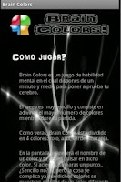 Screenshot of Brain Colors (Español)