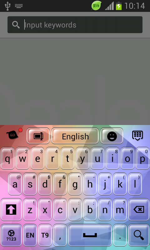 Keyboard for Motorola Razr i- screenshot