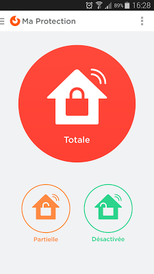 Myfox Home Control - screenshot