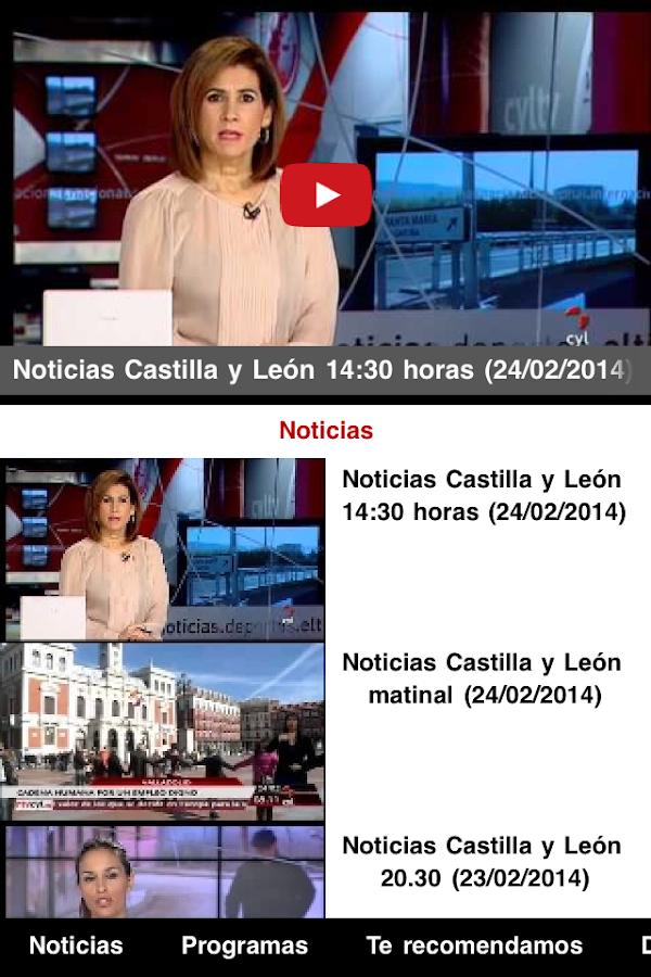 Castilla y León Televisión- screenshot