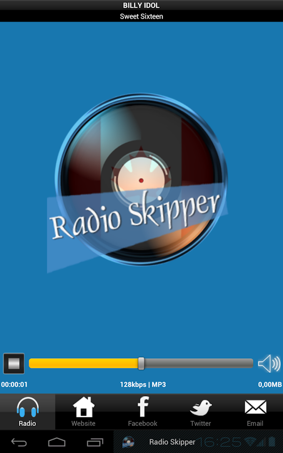 Radio Skipper- screenshot