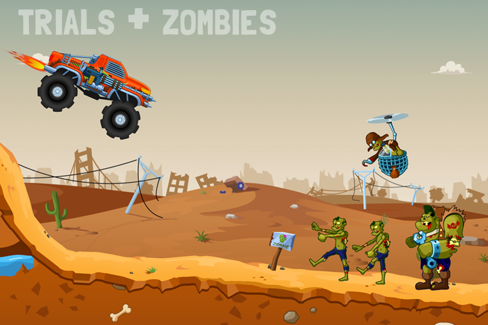 Zombie Road Trip Trials- screenshot