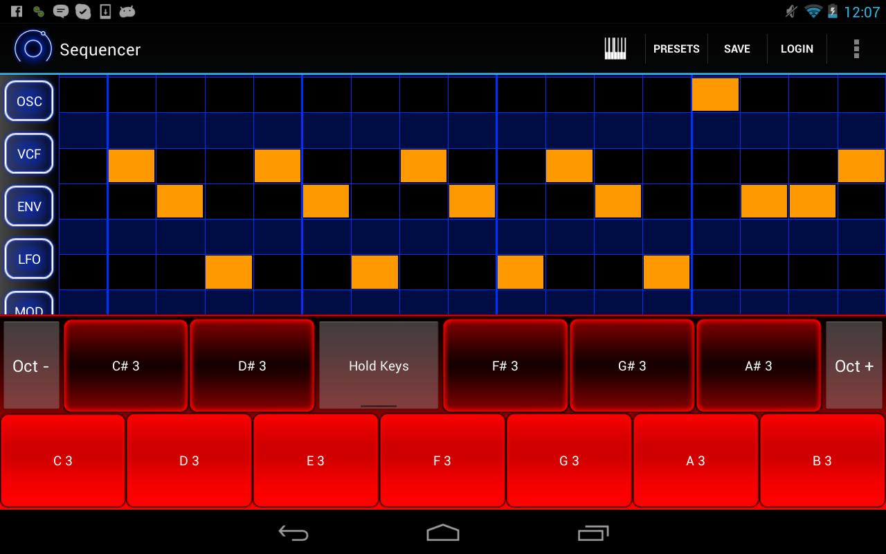 Heat Synthesizer Demo BETA - screenshot