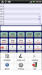 Droid RPN Calculator - screenshot thumbnail