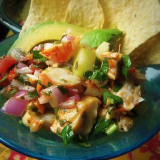 Ensalada de Mariscos (Seafood Salad).