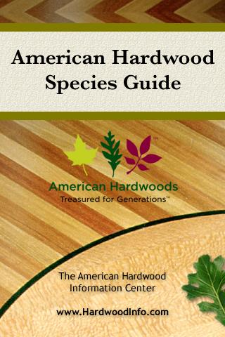 American Hardwood SpeciesGuide- screenshot