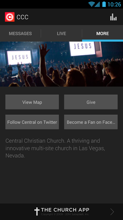 Central Christian Church- screenshot