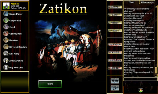 Armies of Zatikon: TCG Chess