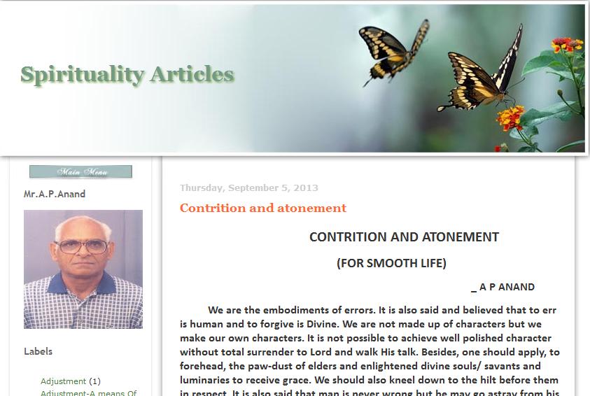 Spirituality-Articles 16