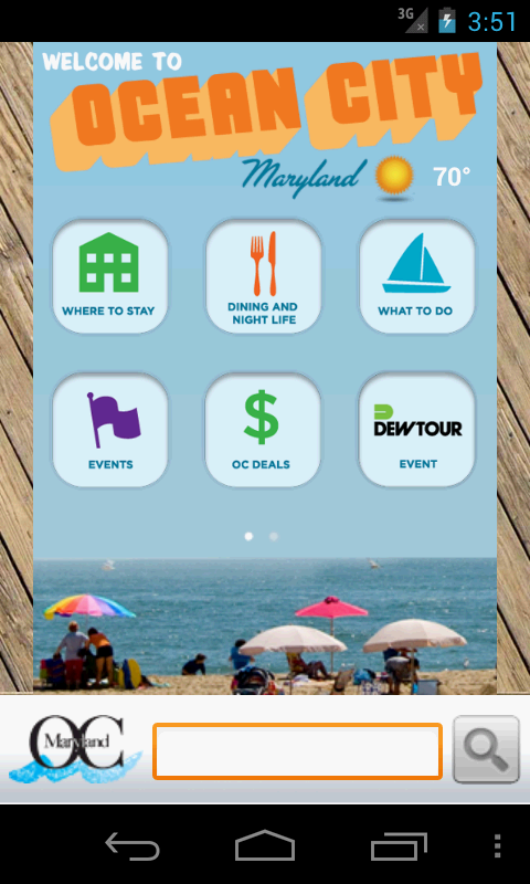 Ocean City, MD - Official App - screenshot