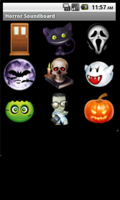 Horror Halloween Soundboard - screenshot