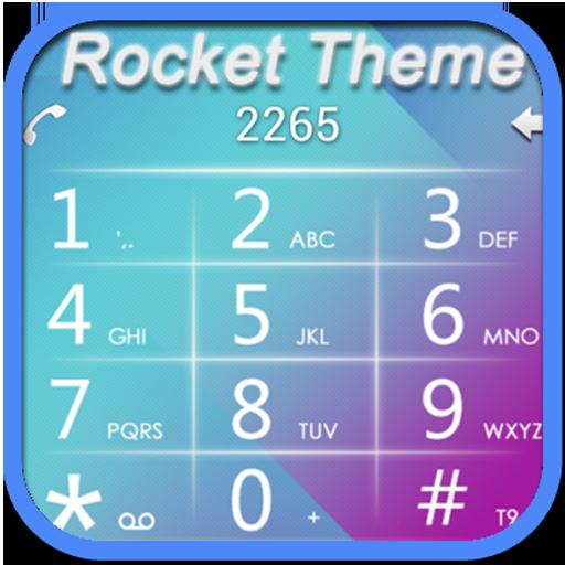 RocketDial BlueWhite Theme LOGO-APP點子