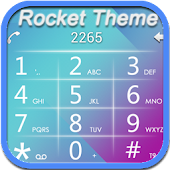 RocketDial BlueWhite Theme
