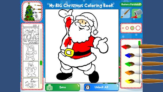 My Big Christmas Coloring Book Screenshot Thumbnail