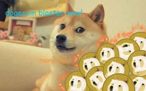Dogecoin Blaster Wow