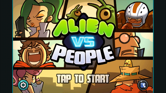 Alien Vs People- screenshot thumbnail