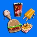 Memory Game For Kids-Fast Food logo