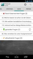 Screenshot of Prüfung Friseure