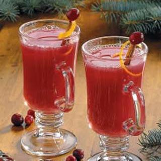 Hot Cranberry Citrus Drink.