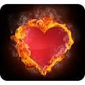 Fiery Heart Wallpaper logo