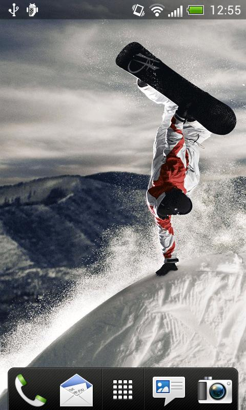 Snowboard Live Wallpaper - screenshot