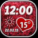 San Valentín Widget Tiempo icon