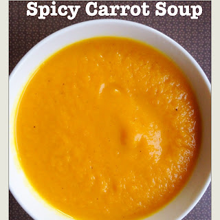 Spicy Carrot Soup Recipe