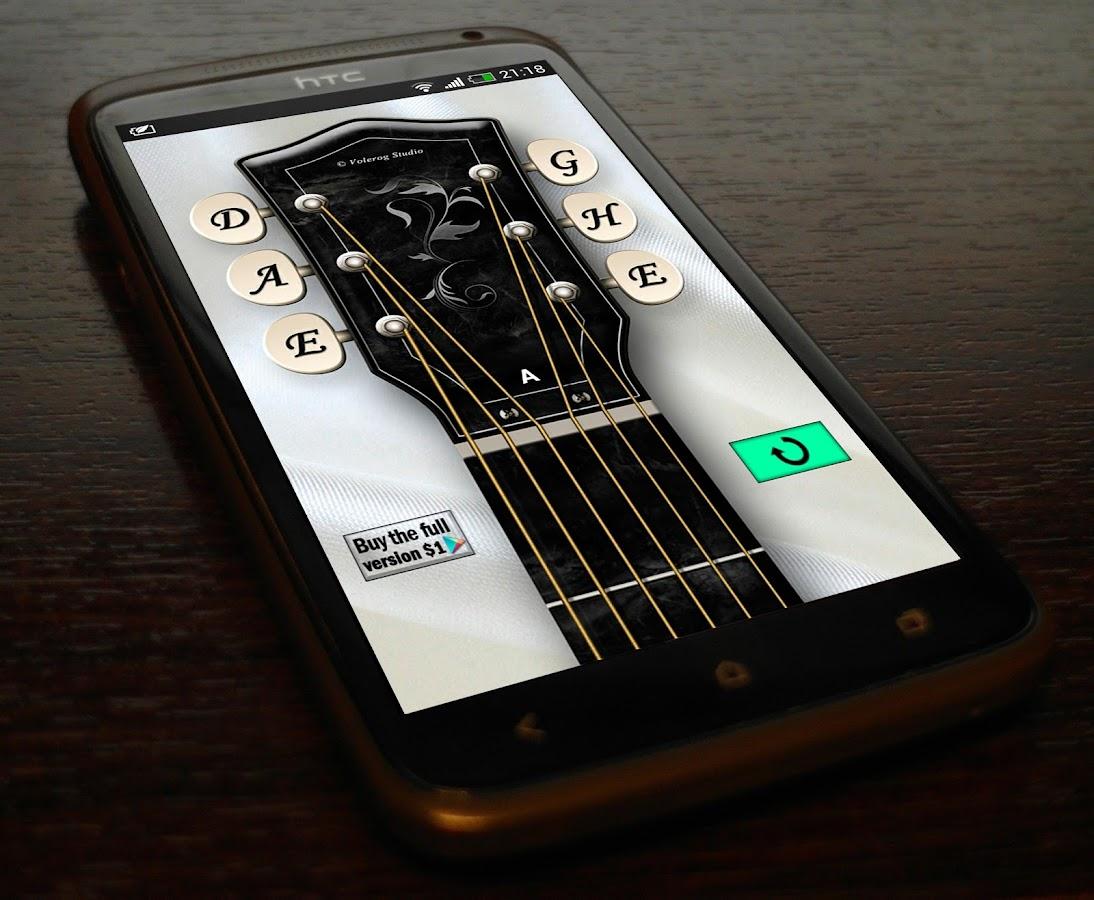 По тюнеру настройки для электронному гитары программы