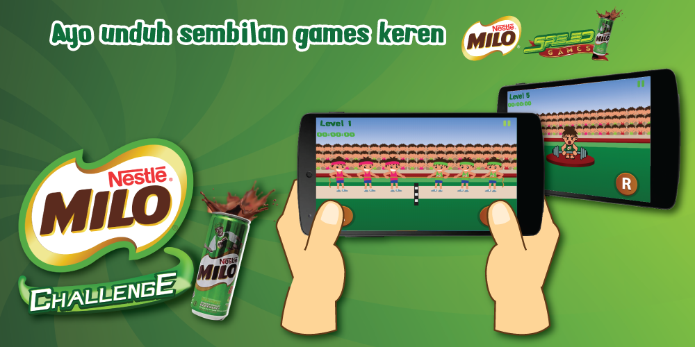 MILO Speed Games Challenge - screenshot