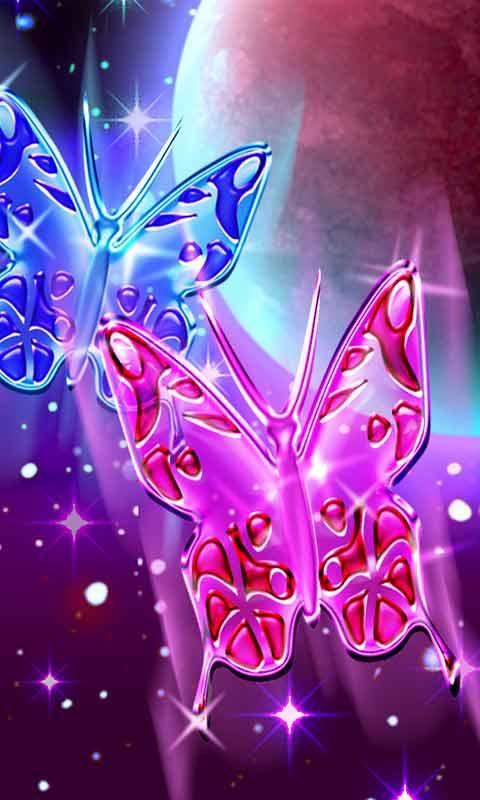 Crystal Butterflies Wallpaper - Android Apps on Google Play