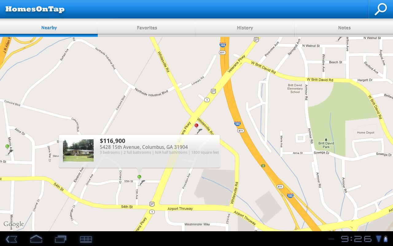 KPDK HomesOnTap- screenshot
