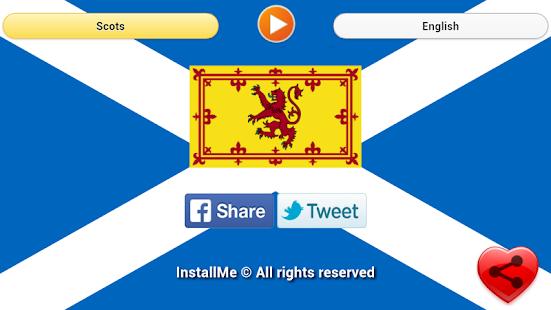 National Anthem of Scotland screenshot