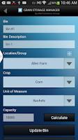 Screenshot of Grain Storage Manager
